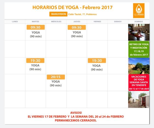 clases y retiros de yoga barcelona