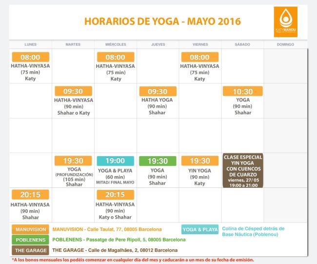 Clases y cursos de Yoga Barcelona