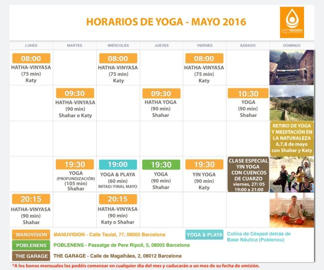 Clases de Yoga, Retiro de Yoga Barcelona