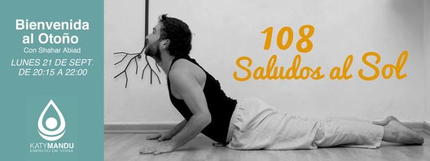 108 Saludos al Sol - Yoga Poblenou