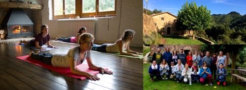 Retiro Yoga y Meditación Invierno Barcelona