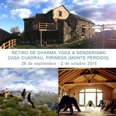 Retiro Dharma Yoga y Senderismo, Pirineos