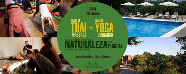 Yoga y Thai Massage y Naturaleza Barcelona