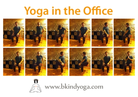 Yoga in the Office Barcelona