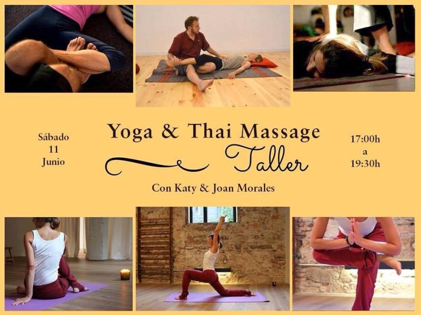 Yoga y thai massage Barcelona