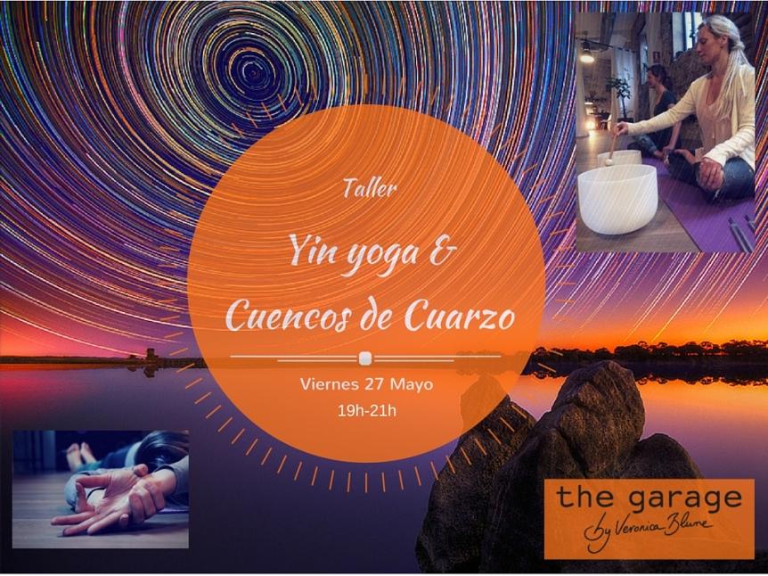 Yin Yoga con Sonido de Cuencos de Cuarzo en Barcelona