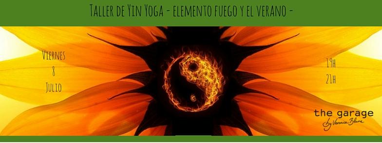 Yin Yoga Verano en Barcelona