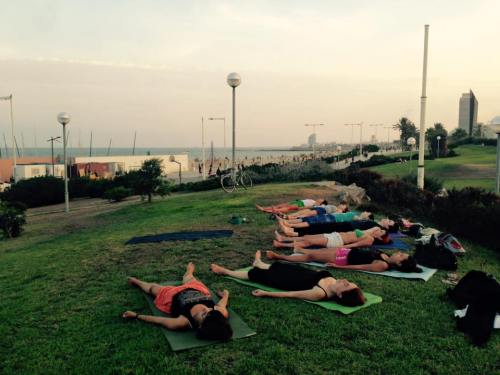 Yin Yoga aire libre - Solsticio Verano